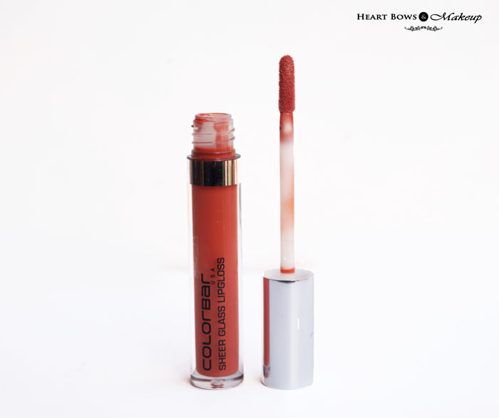Colorbar Sheer Lipgloss Brown Sheen Review Swatches