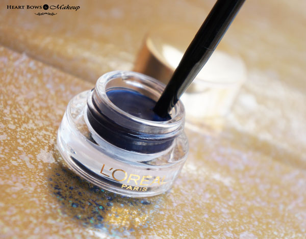 L'Oreal Blue Gel Eyeliner Review