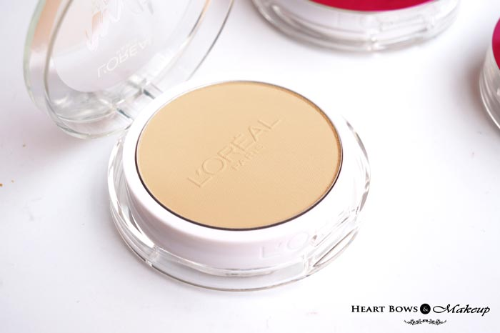L'Oreal Mat Magique Powder Review Swatches