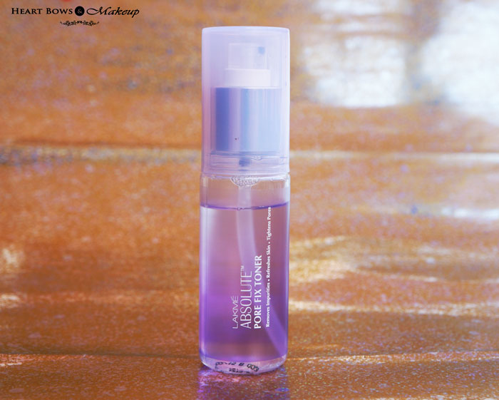 Lakme Absolute Pore Fix Toner Review Price Buy India