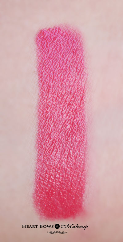 Maybelline Color Show Lipstick Cherry Crush Swatches Review