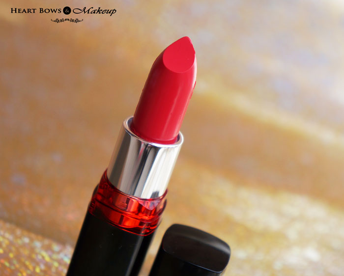 c4b6a091d Maybelline Colorshow Cherry Crush Lipstick Review   Buy Online India