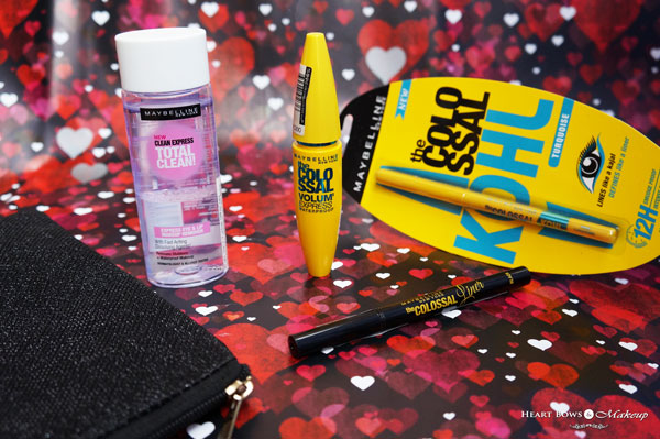 Maybelline Colossal Eye Kit Review Products Price Buy India