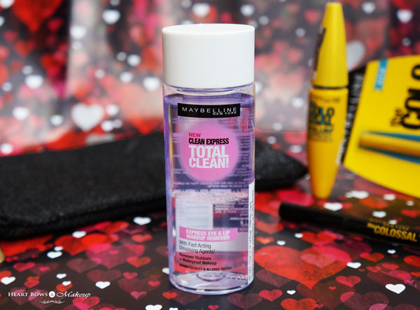 Maybelline Eye Colossal Kit Review Products Maybelline Clean Express Makeup Remover