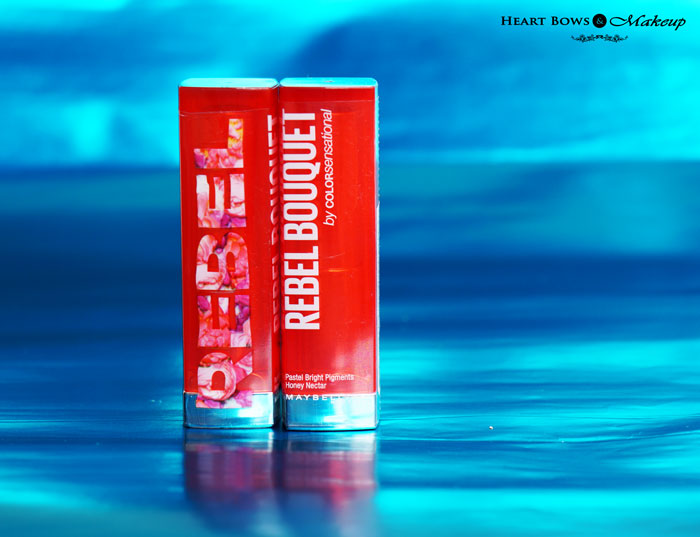 Maybelline Rebel Bouquet REB 01 02 Review Swatches Price Buy India