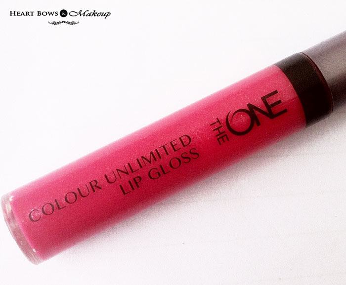 Oriflame The ONE Lip Gloss Very Fuchsia Review, Swatches & Price India