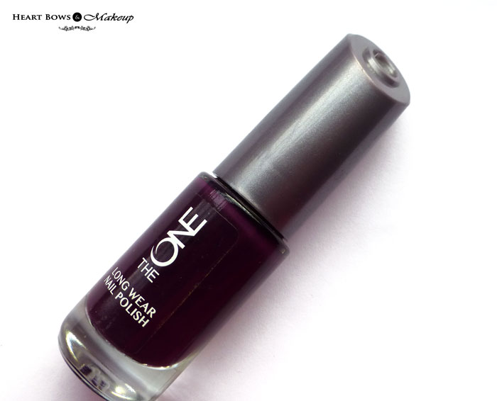 Oriflame The ONE Nail Polish Purple In Paris Review Swatches