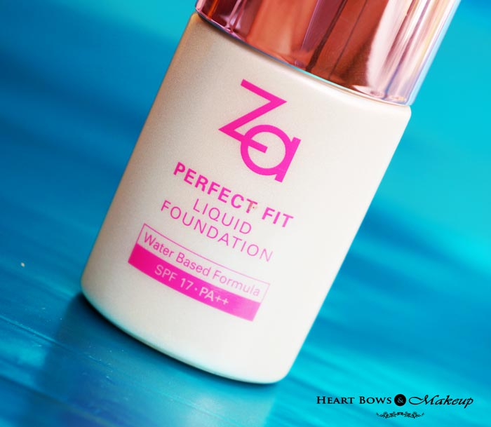 ZA Liquid Foundation Review Price Buy Online India