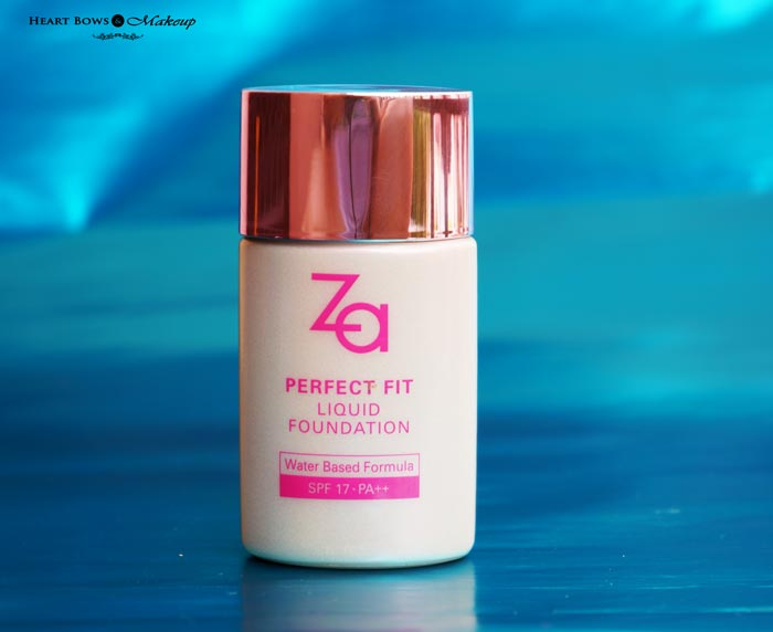 ZA Perfect Fit Liquid Foundation Review Swatches Price India