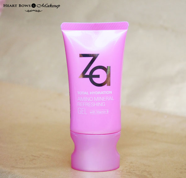 ZA Total Hydration Amino Mineral Refreshing Gel Review Price Buy Online India