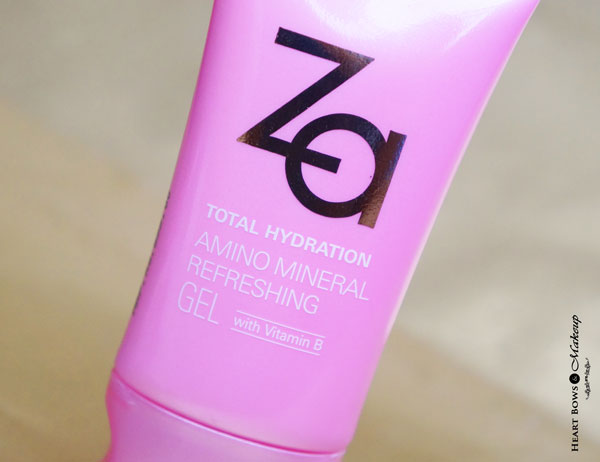 ZA Total Hydration Gel Review Price Buy India
