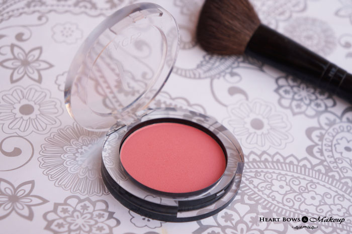 Best Peachy Pink Blush India Faces Glam On Blush Coral Pink Review
