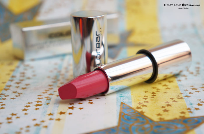 Colorbar Ultimate 8hrs Stay Lipstick French Pink Review