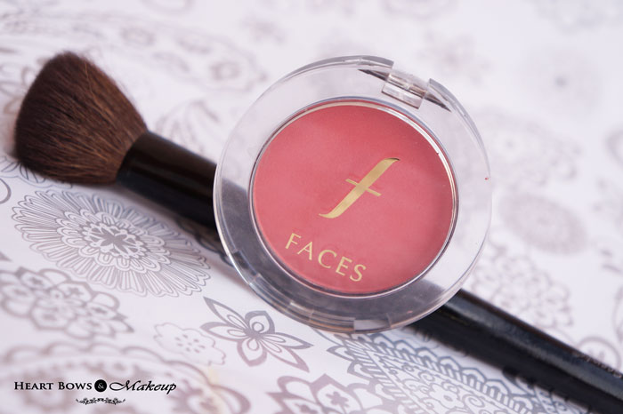 Faces Glam On Blush Coral Pink Review Buy Online India