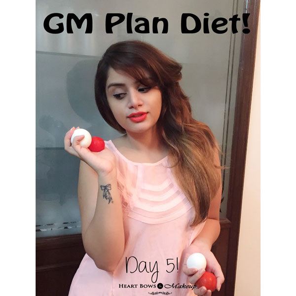 GM Diet Chart Day 5 My Experience & Tips