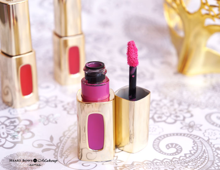 L'Oreal Paris Extraordinaire Liquid Lipstick Gloss Review Price Buy Online India