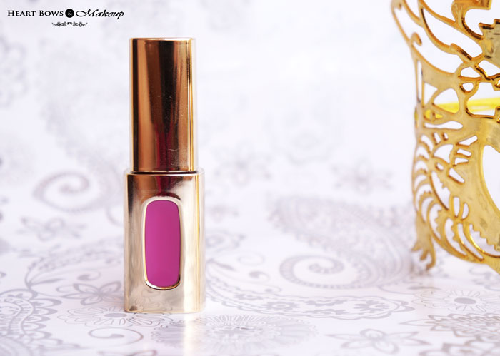 L'Oreal Paris Extraordinaire Liquid Lipstick Plum Quartet Review Swatches Price India