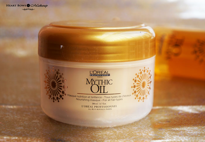 L'Oreal Professional Mythic Oil Nourishing Masque Review Price Buy India