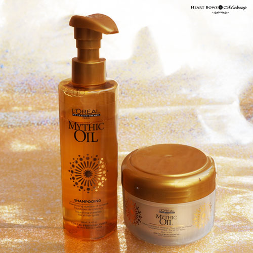 L'Oreal Professional Mythic Oil Shampoo & Nourishing Masque Review Buy Online India