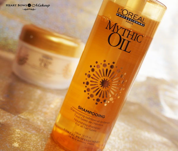 L'Oreal Professional Mythic Oil Shampoo Review Best Shampoo For Dry Hair
