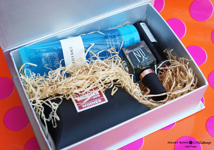 My Envy Box September Products Review