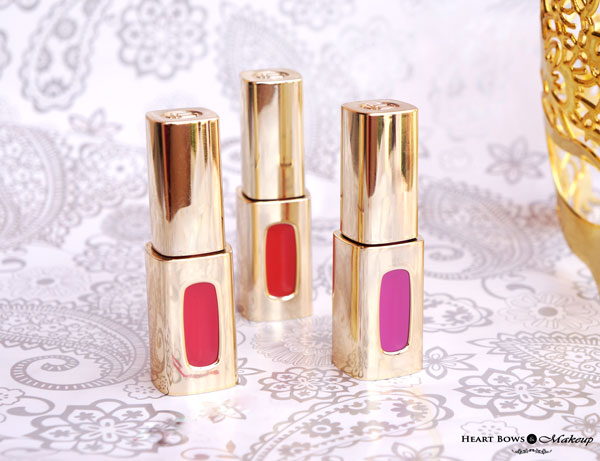 New Loreal Extraordinaire Lipglosses Swatches Shades Review