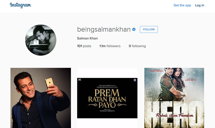 Salman Khan Instagram ID & Pictures