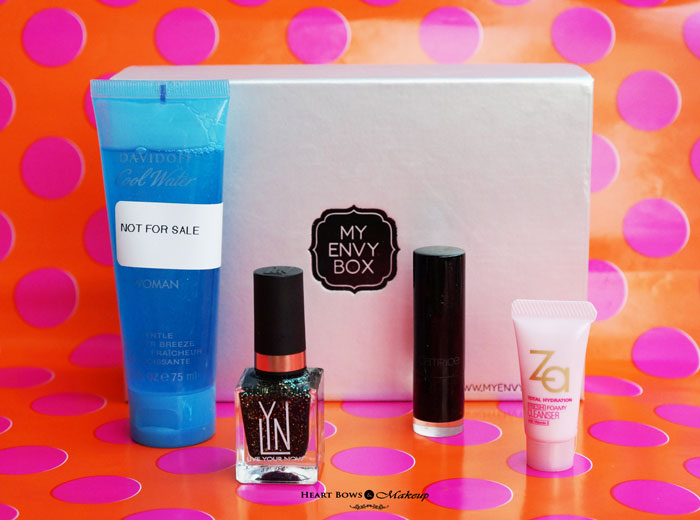 September My Envy Box 2015 Review Products Samples