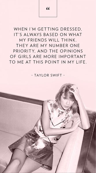 Taylor Swift Pictures & Quotes