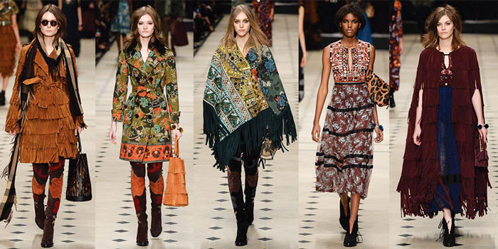 Autumn Fall Fashion Trends 2015 Boho Prints