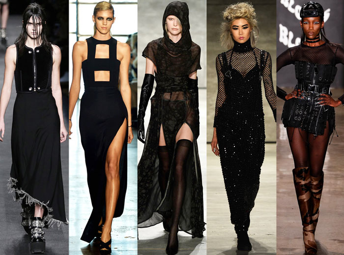 Autumn Winter Fashion Trends Gothic Chic