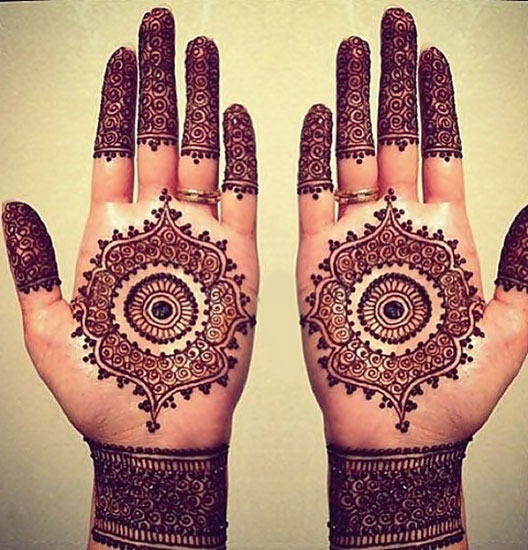 Best Mehendi Designs For Hands Picture