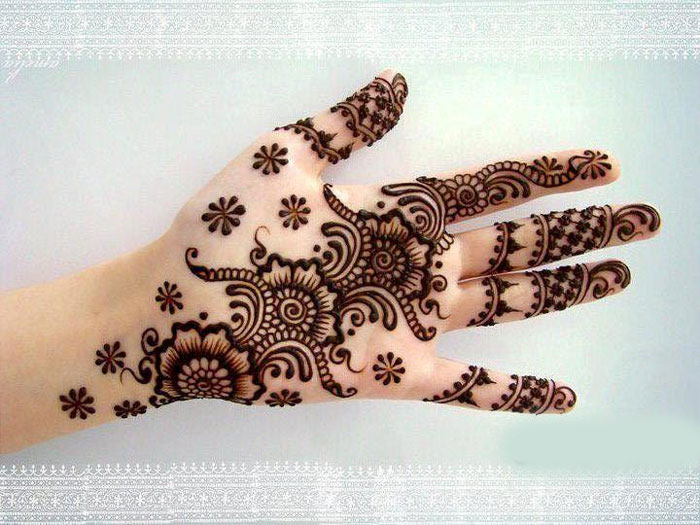 Best Mehendi Designs For Hands
