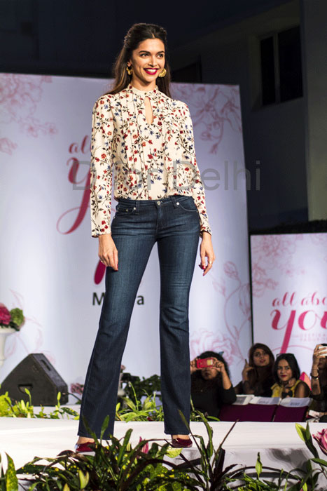 Deepika Padukone At All About You Collection Launch