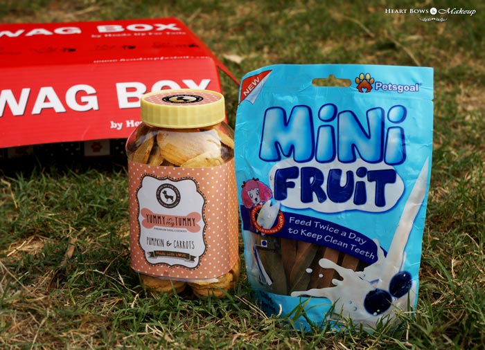 Dog Treats & Food Online India Wag Box Review