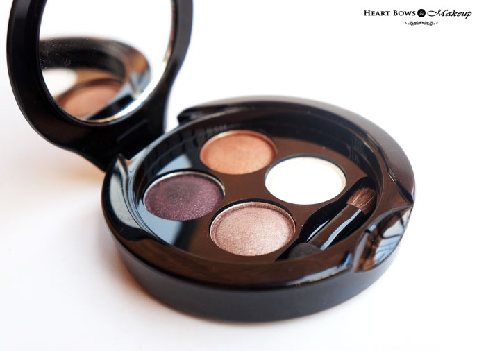 Faces Glam On Eyeshadow Quad Smokey Review Price