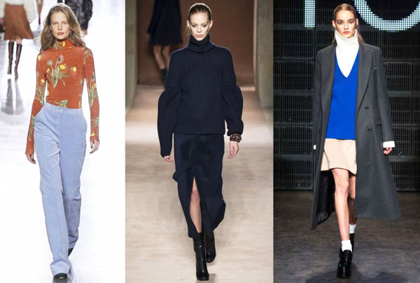 Fall Winter Fashion Trends 2015 High Polo Necks
