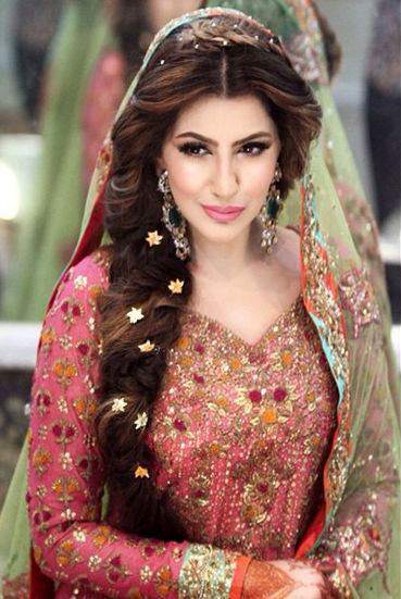 Wedding hairstyles for long hair trendy pretty hair dos heart indian wedding hairstyles for long hair junglespirit Choice Image
