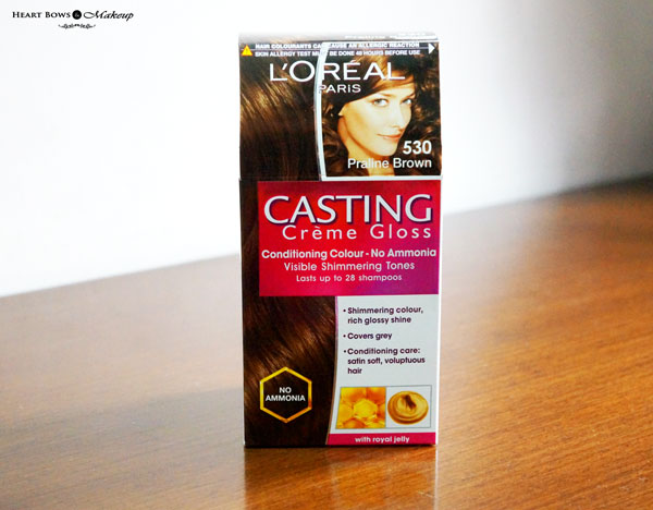 L'Oreal Paris Casting Creme Gloss 530 Praline Brown Review