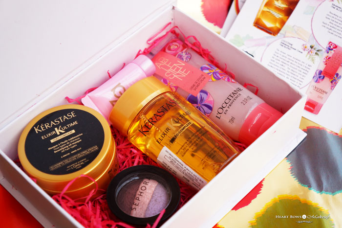 My Envy Box October 2015 Review Products Price