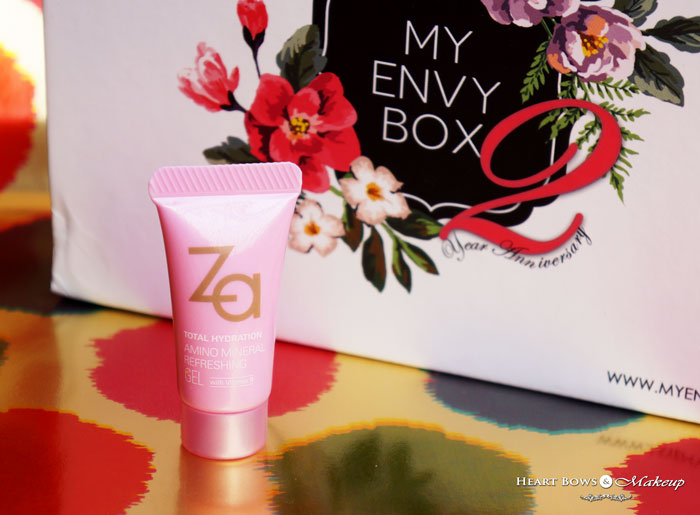 October 2015 My Envy Box Review Products