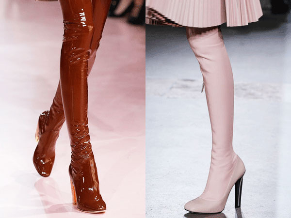 Winter 2015 Fashion Trends Second Skin Thigh High Boots