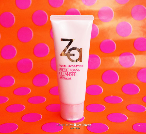 ZA Total Hydration Foamy Face Wash Review Price Buy India