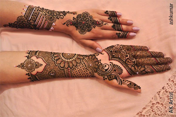 Arabic Mehendi Designs For Hands