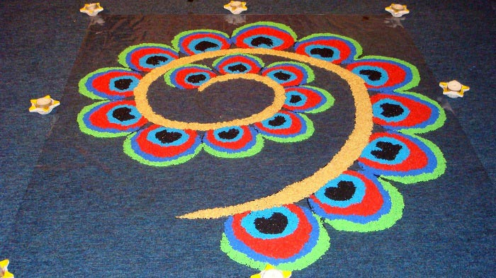 Best Diwali Rangoli Design 2015