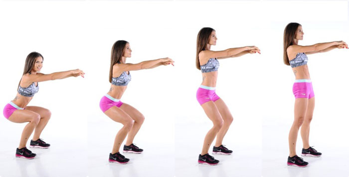 Best Thigh Exercises How To Do Squats