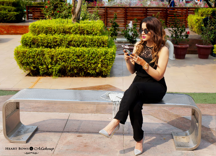 Delhi Fashion Blogger OOTD L'Oreal Casting Creme Gloss Praline Brown Review