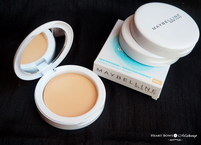 Maybelline White Superfresh Perfecting Compact Coral Review Swatch Price India
