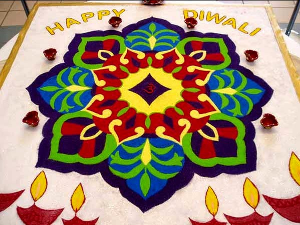Unique Rangoli Patterns For Diwali