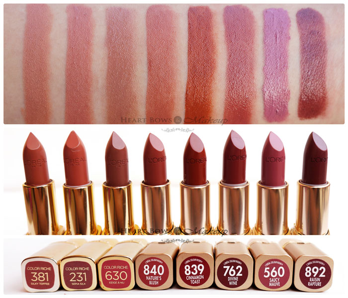 Best Brown Lipsticks For Warm Skintone By L'Oreal Paris - Heart ...